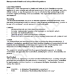 machinery risk assessment template
